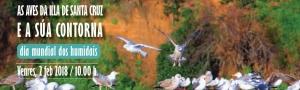 Las aves de la Isla de Santa Cruz: Ruta interpretativa en el Día Mundial de los Humedales 2018