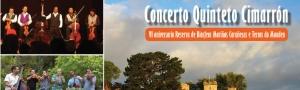 Concerto Quinteto Cimarrón polo VI Aniversario da RB Mariñas Coruñesas
