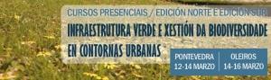 Curso Infraestrutura Verde e Xestión da Biodiversidade en Contornas Urbanas