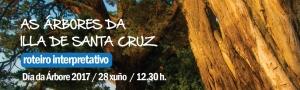 Roteiro interpretativo no Día da Árbore 2017 CEIDA