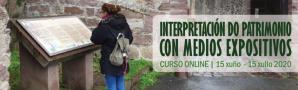 Curso online Interpretación do Patrimonio con Medios Expositivos