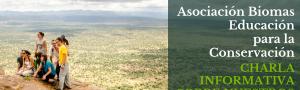 Educación para la Conservación: Charla sobre el programa formativo de la Asociación Biomas