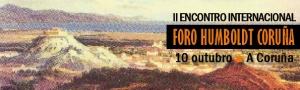 II Encuentro Internacional Foro Humboldt Coruña