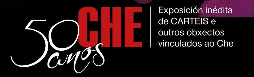 Exposición de carteles sobre Ernesto Che Guevara