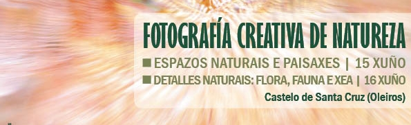 Curso Fotografia Creativa de Natureza