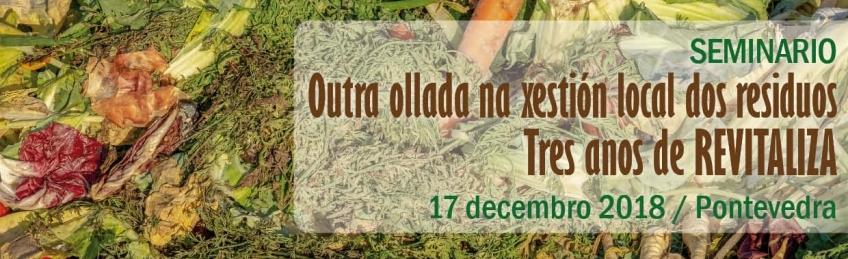 Seminario 'Outra Ollada na Xestión Local dos Residuos: Tres anos de REVITALIZA'