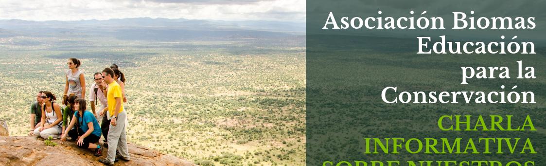 Educación para a Conservación: Charla sobre o programa formativo da Asociación Biomas