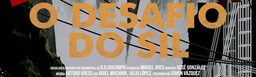 Proxección do documental 'O desafío do Sil' de Domingo Díaz Docampo