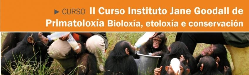 II Curso Intituto Jane Goodall de Primatoloxia CEIDA