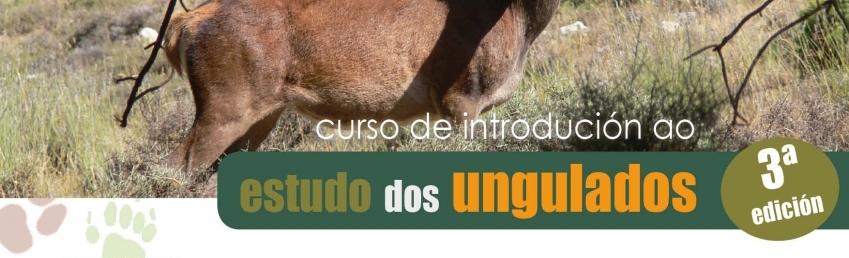 Curso de Introdución ao Estudo dos Ungulados: metodoloxías de mostraxe