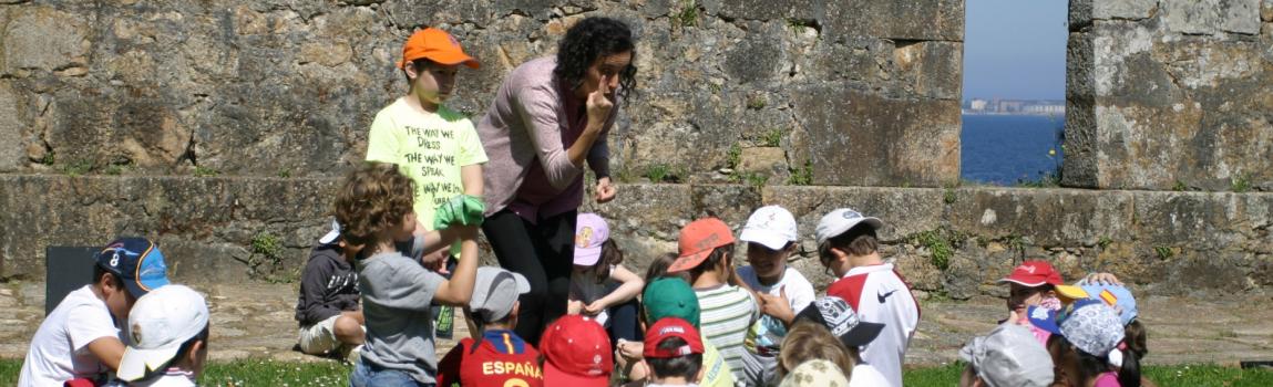 Programa Educacion Ambiental a Illa de Santa Cruz CEIDA