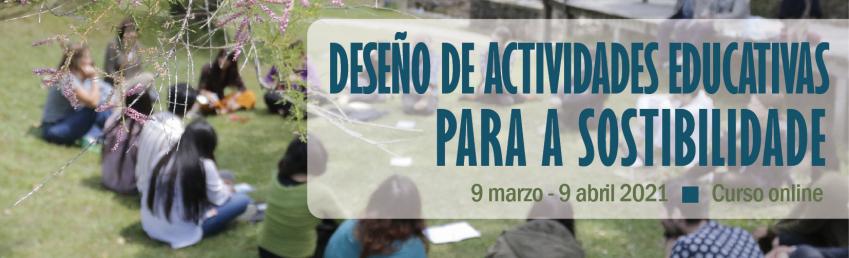 Deseño de actividades educativas para a sostibilidade