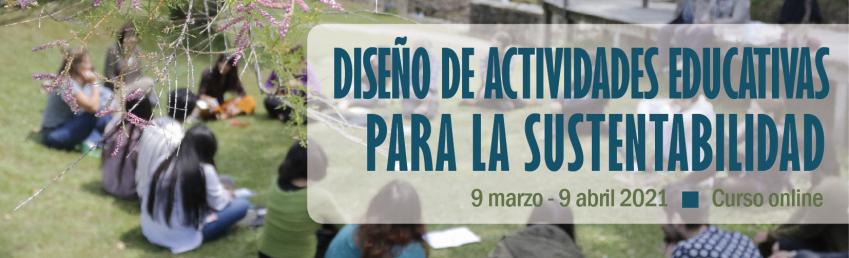 Diseño de actividades educativas para la sustentabilidad