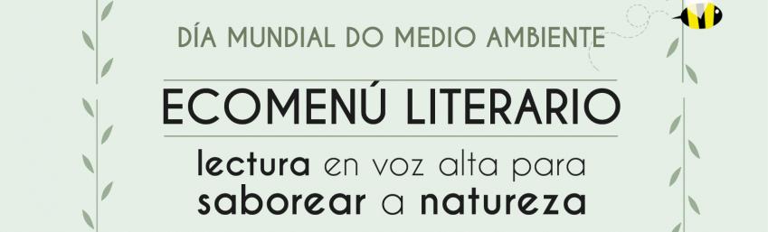 Ecomenú Literario: lectura en voz alta para saborear a natureza