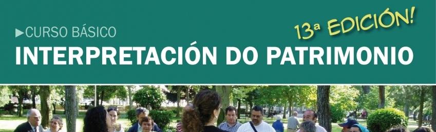 Curso Online Básico de Interpretación do Patrimonio 13 edición CEIDA