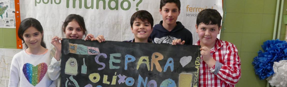 E ti que fas polo mundo: programa de educacion ambiental sobre residuos