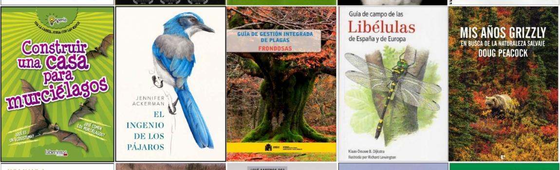 Novedades bibliográficas de la biblioteca y Centro de Documentación Ambiental