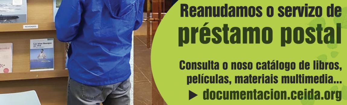 O noso Centro de Documentación Ambiental reanuda o servizo de préstamo postal