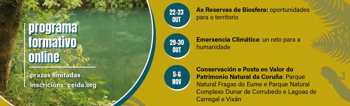 Programa Formativo online por una Transición Ecológica