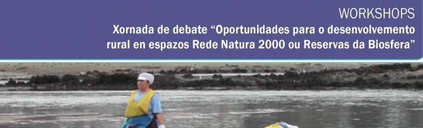 Xornada oportunidades para o desenvolvemento rural en espazos Rede Natura 2000 e reservas de biosfera CEIDA