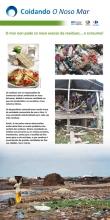 Panel 2. O mar non pode co noso exceso de residuos…e de consumo!. A sociedade industrializada na que vivimos xera unha gran cantidade de residuos. A procedencia dos residuos