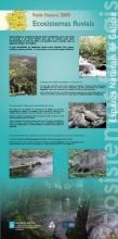 Panel 18. Principais ecosistemas fluviais da Rede Natura 2000