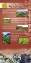 Panel 21. Principais serras e montañas incluídas na Rede