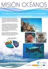 Panel 1. Os océanos, fonte de recursos vitais para a humanidade, estanse agotando