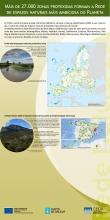 Panel 3: Máis de 27.000 zonas protexidas forman a rede de espazos naturais máis ambiciosa do planeta