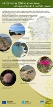 Panel 5: A Rede Natura 2000 do noso litoral atesoura especies e hábitats únicos